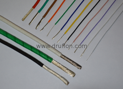 Ptfe Insulated Wires Cables Manufacturer Exporter Teflon